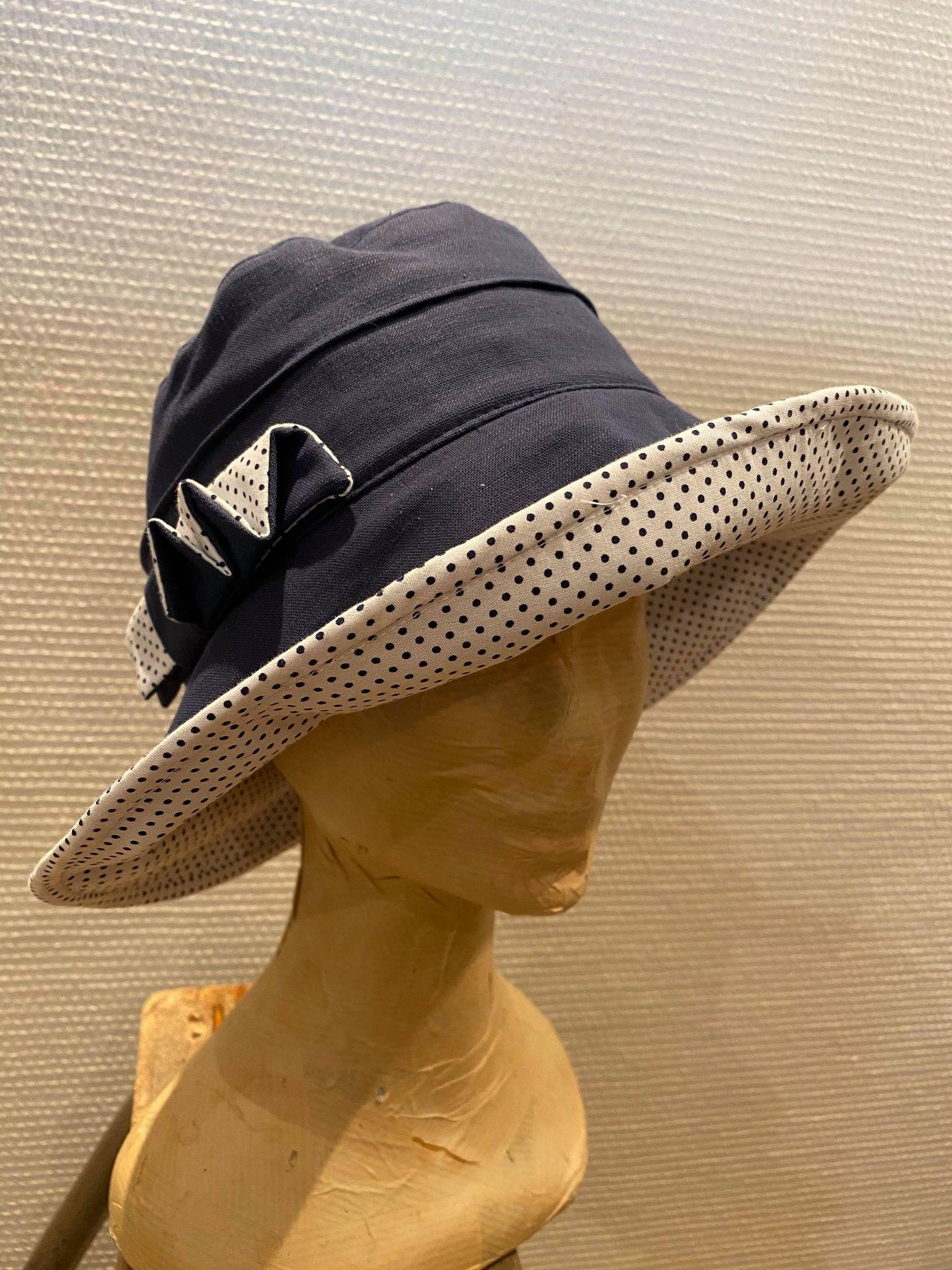 Chapeau large femme